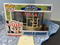 Funko Pop! Rides #79 Jungle Cruise Congo Queen Boat *RARE Disney Parks Sticker*