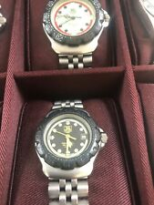 ladies tag heuer  F1 watch Black face cheap no reserve