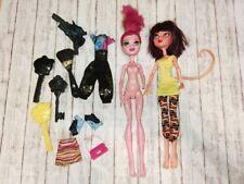 Monster High cleolei Gigi Grunt 13 wishes fashion de webarella body replace