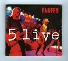 CD  (NEW) FLUFFY 5 LIVE
