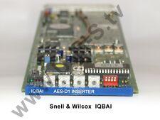 Snell & Wilcox IQBAI - AES-D1 Inserter