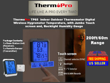 ThermoPro TP65 Indoor Outdoor Thermometer Digital Wireless Hygrometer