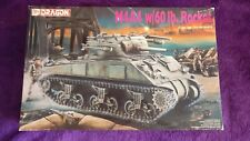 Dragon 6041 1:35 M4A4 Sherman Tank w/60lb. Rocket Model Kit *IN SEALED BAGS*