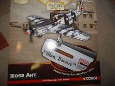 "CORGI AVIAZIONE P-51K Mustang ""Signora Bonnie"" Nose Art 1:72"