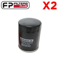 2 x MZ9HD OSK Oil Filter - Z9, WZ9, LF3530, LF3313, P550008. AFL1, 51515, ACO1