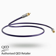 QED rendimiento Digital Coaxial Audio 1.0 M 75Ω Cable de interconexión Personalizado