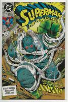 SUPERMAN The Man of Steel #18 1992 VF/NM DC COMICS 1st Full App. of Doomsday