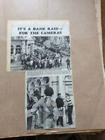 H1-1 ephemera 1967 picture bbc film roy hudd margate bank raid