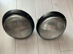 genuine porsche 911 930 headlights headlamp L R PAIR H4 1974-89 BOSCH Europe