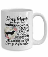 Kooikerhondje Mom Mug Mother's Day Gift For Kooikerhondje Lover Kooikerhondje
