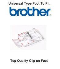 1/4 INCH CLEAR PLASTIC PATCHWORK QUILTING FOOT Fits BROTHER SEWING MACHINES