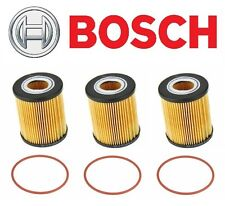 For BMW 3 5 Series X3 X5 Z3 Z4 Set of 3 Engine Oil Filter BOSCH Workshop 72202WS