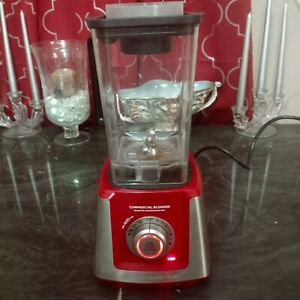 Wolfgang Puck Professional Commercial Blender BPBA0010 Red - WORKS