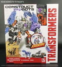 Construct-Bots LOCKDOWN + HANGNAIL Dinobot Warriors Transformers Age Extinction