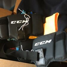 Ccm Senior Ice Hockey Goalie Knee Thigh Boards Protector guards padding pads