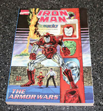 Iron Man The Armor Wars Graphic Novel 1990 First Printing NEAR MINT