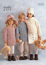 Children's  DK Knitting Pattern Sweater Jumper 22 -28  inches #111