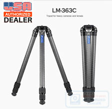 【Leofoto USA Dealer】 Leofoto LM-363C Tripod with Video Bowl and Case /Gitzo/RRS