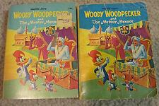 Vtg Whitman Woody Woodpecker Meteor Menace Lot One In Color