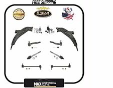 Lower Control Arm Ball Joints Tie Rods Sway Bar Chassis Kit $5 YEARS WARRANTY$