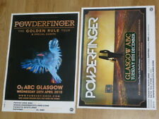Powderfinger - Scottish tour Glasgow live music show concert gig posters x 2