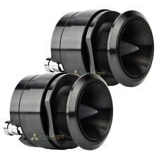 """2 Audiopipe ATQ1550 1"""" Aluminum Titanium Bullet Super Tweeter 500 Watts Max Loud"""