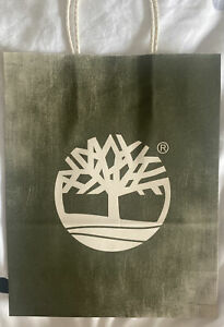 New Timberland Store Gift bag carrier bag 27cm X 22cm