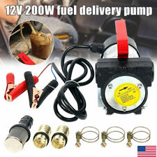 12V/200W Fuel Oil Transfer Pump Diesels Biodiesel Kerosene Self Priming