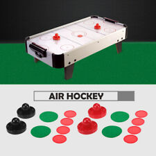 1 Set Air Hockey 76mm / 96mm Plastic Mallet Pusher Puck Felt Slider Pusher U6K0