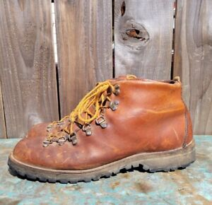 VTG Danner Mountain Light Leather Lace Up Hiking/Trail Boots #8290 Men's sz 13 B