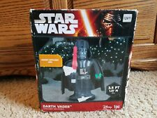 New Gemmy 3.5' Darth Vader Inflatable Star Wars Airblown Yard Decor