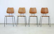 4 x 60er Teak Stühle Danish Mid-Century 60s 4 x Dining Chairs Vintage