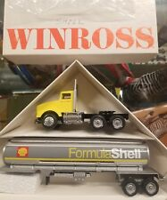 Shell Formula Tanker '93 Winross Truck
