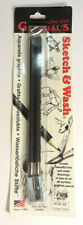 General's Sketch & Wash Aquarelle Graphite Pencil All-Surface #588 Bp Pack of 2