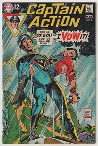 M1910: Captain Action #3, Vol 1, VF Condition