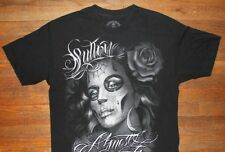 SULLEN ART COLLECTIVE / ALMOST FOREVER / TATTOO ART USA / BLACK T-SHIRT SIZE L