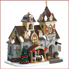 NEW Coventry Cove Lemax Christmas Village Building Holy Night Chapel