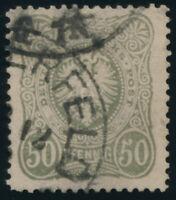 DR 1882, MiNr. 44 PFä, Barmener Postfälschung, Attest Wiegand, Mi. 3200,- RRR!