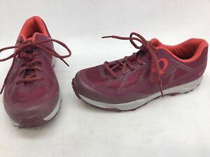 Pearl Izumi X-Alp Canyon Women's Burgundy Cycling Shoes Euro 41 K1226