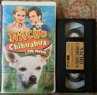 """Nacho Chihuahua - The Movie"" VHS EUC Very Rare Clamshell UAV Gold"