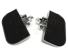 Chrome Mini Floorboards for Harley & Other Motorcycles Front or Rear Foot Boards