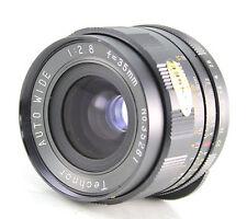 Technor Wide Angle 35mm F2.8 Lens M42/Pentax Screw Mount