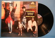 THOMPSON TWINS HERE'S TO FUTURE DAYS AL-8-8276 VINYL LP 1985 SHRINK VG++/VG++!!
