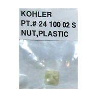 NEW - KOHLER PT.# 24 100 02 NUT - PLASTIC - FREE SHIPPING