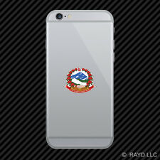 Nepali Coat of Arms Cell Phone Sticker Mobile Nepal flag NPL NP