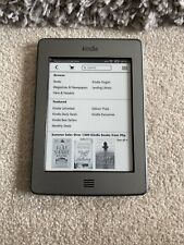 amazon kindle e reader 4th gen 4gb touch screen good condition not backlit
