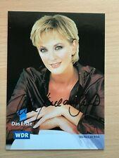Autogrammkarte - ULLA KOCK AM BRINK - ARD WDR TV MODERATOR - orig. signiert #461