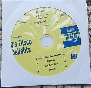 1970'S DISCO DELIGHTS KARAOKE CDGM MULTIPLEX 8+8 -SDK9027 YMCA,I WILL SURVIVE
