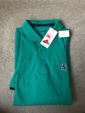GiIORDANO Green Tapered Fit Men's Polo Collared T-Shirt-XL-NWT