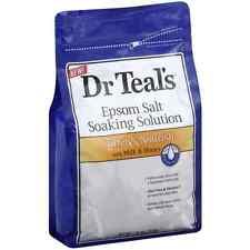Dr Teal's Epsom Salt Solution, Soften - Nourish with Milk - Honey 48 oz